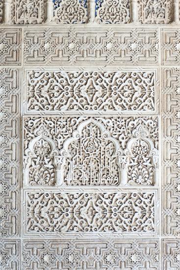 Nasrid Palace, Alhambra, Granada, Andalucia, Spain-Rob Tilley-Photographic Print