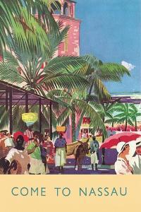 Nassau Travel Poster