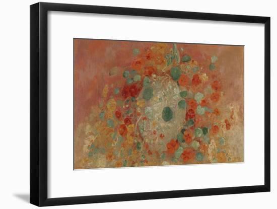 Nasturtiums, 1905-Odilon Redon-Framed Premium Giclee Print