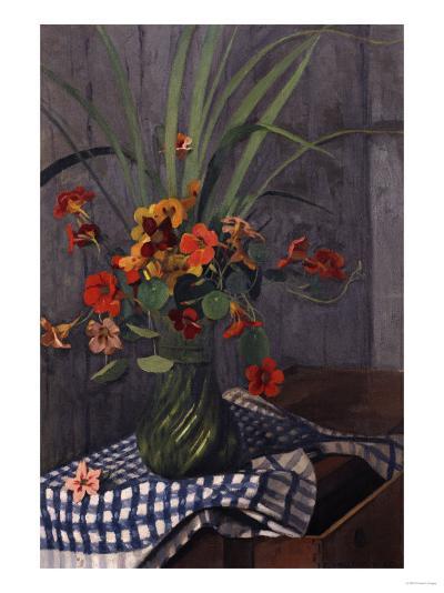 Nasturtiums, 1920-Edgar Degas-Giclee Print