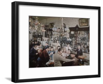 Crystal Bar, Virginia City, Nevada, 1945