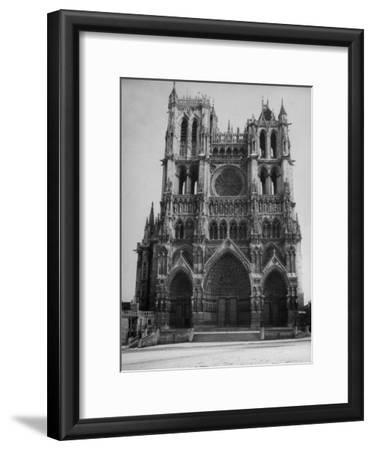 Exterior View of Amiens Cathedral