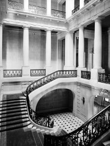 Interior of a Mansion Called Carolands, Built by Mrs. Harriet Pullman Carolan Schermerhorn by Nat Farbman