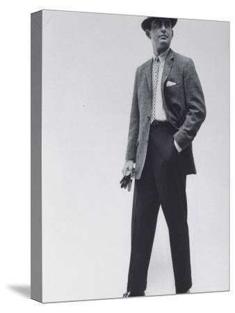 Model Wearing Proper Fashion Suits