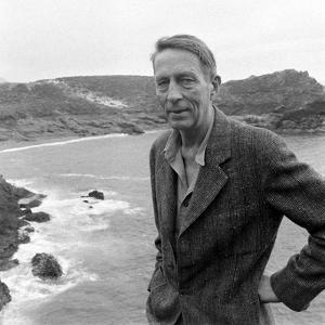 Poet Robinson Jeffers, Big Sur, California April 1948 by Nat Farbman