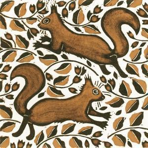 Beechnut Squirrels, 2002 by Nat Morley