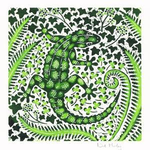 Green Gecko, 2002 by Nat Morley