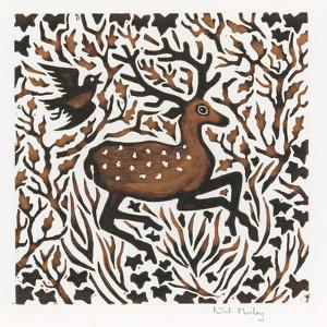 Woodland Deer, 2000 by Nat Morley
