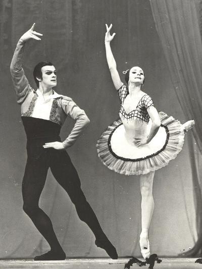 Natalia Bessmertnova and Alexander Godunov, 1970S--Photographic Print