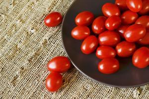 Red Grape Tomatoes by Natalia Ganelin