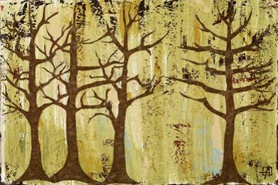 Early Spring Trees by Natalie Avondet