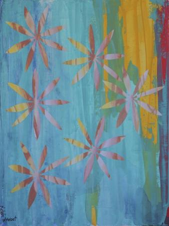 Stained Glass Blooms I by Natalie Avondet