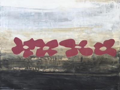 Stenciled Posies III by Natalie Avondet