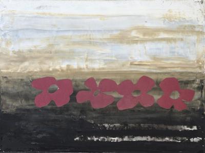 Stenciled Posies IV by Natalie Avondet