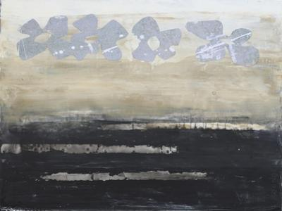 Stenciled Posies VI by Natalie Avondet