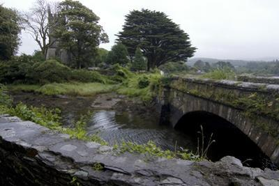 Bridge and Church Near the Sea, Near Schull, County Cork, Ireland by Natalie Tepper