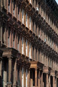 Brownstones in Harlem, New York City, New York, Usa by Natalie Tepper