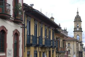 Building Exteriors in La Candelaria (Old Section of the City), Bogota, Colombia by Natalie Tepper
