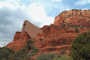Chapel of the Holy Cross, Sedona, Arizona by Natalie Tepper