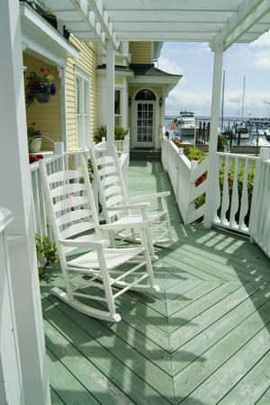 Mackinac Island, Michigan, Usa - American Verandah