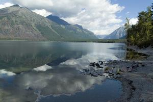 Mcdonald Lake, Glacier National Park, Montana, Usa by Natalie Tepper