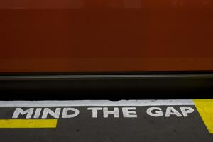 Mind the Gap by Natalie Tepper