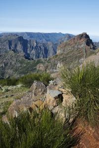 Pico De Areeiro, Madeira, Portugal. View of the Peaks and Mountains at Pico De Areeiro by Natalie Tepper