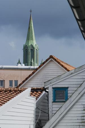 Roofs, Old Town, Stavanger, Norway