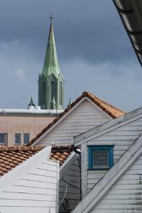 Roofs, Old Town, Stavanger, Norway by Natalie Tepper