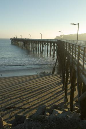 San Simeon Pier, California by Natalie Tepper