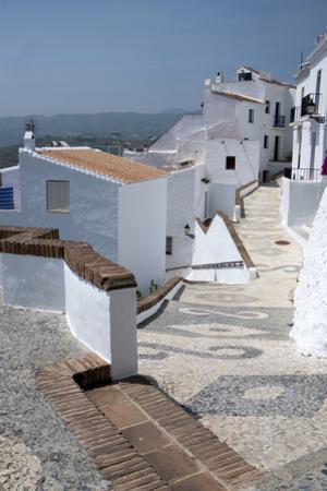 Street Scene in the 'White' Town of Frigiliana, Andalucia, Spain by Natalie Tepper