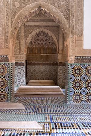 The 16th Century Tombs of the Saadian Dynasty, Marrakech, Morocco by Natalie Tepper