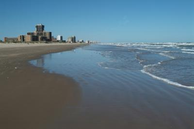 The Beach and Resort of South Padre Island, South Texas, Usa by Natalie Tepper