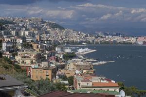 The Classic View over the City of Naples, Naples, Campania, Italy, Europe by Natalie Tepper