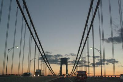 The Verrazano Bridge Double-Decker Suspension Bridge That Connects Staten Island and Brooklyn by Natalie Tepper