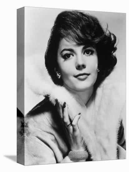 Natalie Wood--Stretched Canvas Print