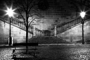 Charles Bridge From The Side Of Mala Strana, Prague by Nataliya Hora
