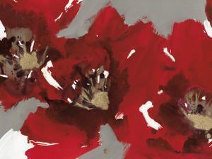 Red Poppy Forest I by Natasha Barnes