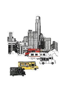 Austin Food Trucks by Natasha Marie