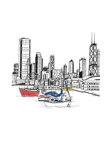Chicago Sailboats by Natasha Marie
