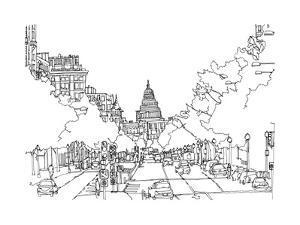 Cityscape Washington DC by Natasha Marie