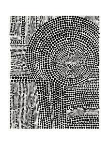 Clustered Dots B by Natasha Marie