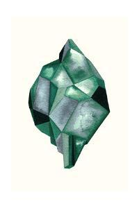 Faceted Gem Emerald by Natasha Marie