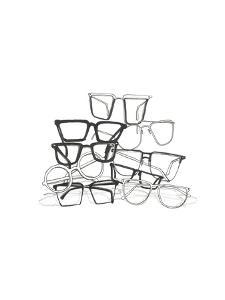Glasses Jumble 3 by Natasha Marie