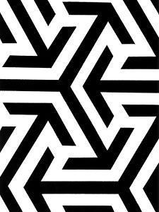 Monochrome Patterns 8 by Natasha Marie