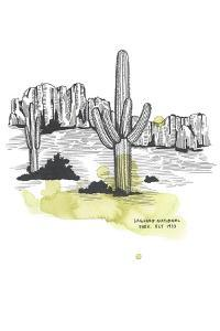 Nation Park Saguaro by Natasha Marie