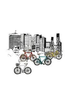 Portland Bicycles by Natasha Marie