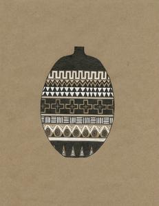 Tribal Vase 3 by Natasha Marie