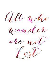 All Who Wander by Natasha Wescoat