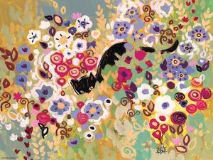 Black Cat Garden by Natasha Wescoat